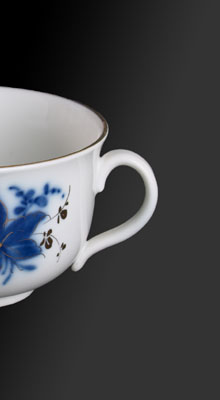 classic elegance from sumi porcelain